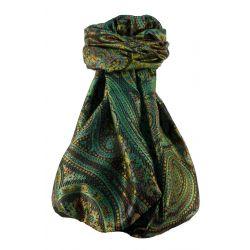 Mens Jamawar Premium Silk Scarf Pattern 8659 by Pashmina & Silk
