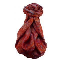 Mens Jamawar Premium Silk Scarf Pattern 8949 by Pashmina & Silk