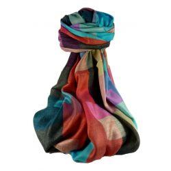 Pashmina & Silk Para Hombres Estola de Seda Primo Contemporary 2689