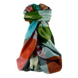 Pashmina & Silk Para Hombres Estola de Seda Primo Contemporary 2719