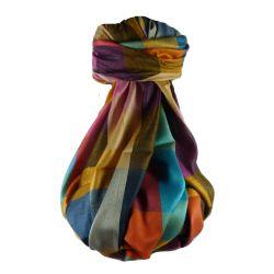 Pashmina & Silk Para Hombres Estola de Seda Primo Contemporary 2849