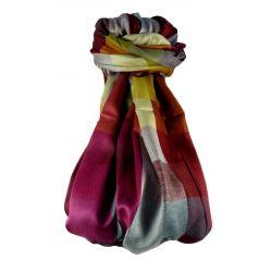Pashmina & Silk Para Hombres Estola de Seda Primo Contemporary 2979
