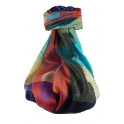 Pashmina & Silk Para Hombres Estola de Seda Primo Contemporary 3099