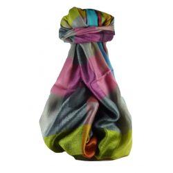Pashmina & Silk Per Uomo Stola Seta Primo Contemporary 3259
