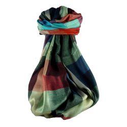 Pashmina & Silk Para Hombres Estola de Seda Primo Contemporary 3389
