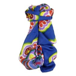 Mulberry Silk Classic Long Scarf Anju Multicoloured by Pashmina & Silk