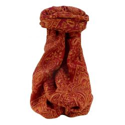 Muffler Scarf 3363 in Fine Pashmina Wool from the Heritage Range by Pashmina & Silk