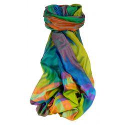 Varanasi Ekal Premium Silk Long Scarf Heritage Range Arun 7 by Pashmina & Silk