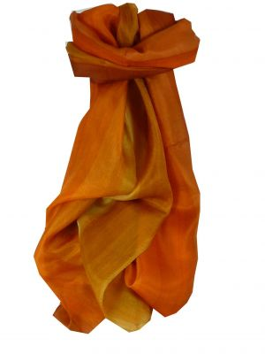 Mulberry Silk Hand Dyed Long Scarf Idas Rainbow Palette from Pashmina & Silk