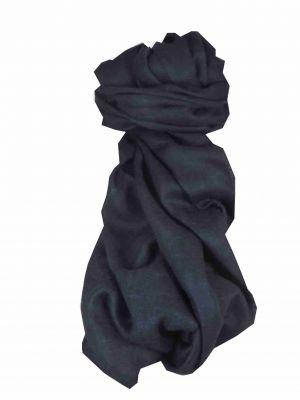 Angora Loose Weave Pashmina Dark Blue by Pashmina & Silk