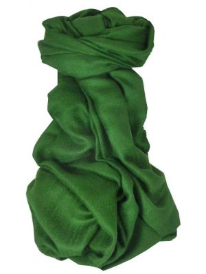 Pashtoosh Luxury Cashmere Shawl Emerald by Pashmina & Silk