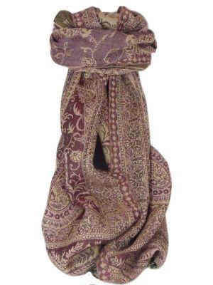 Muffler Scarf 9636 in Fine Pashmina Wool Heritage Range by Pashmina & Silk