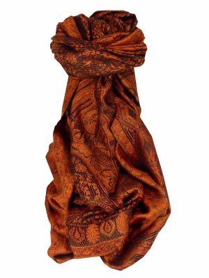 Mens Jamawar Premium Silk Scarf Pattern 3329 by Pashmina & Silk