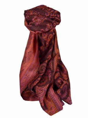 Mens Jamawar Premium Silk Scarf Pattern 5569 by Pashmina & Silk