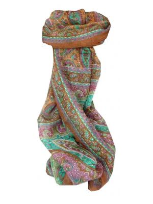 Mulberry Silk Traditional Long Scarf Koel Copper by Pashmina & Silk