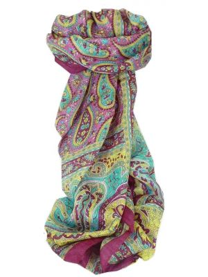 Mulberry Silk Traditional Long Scarf Koel Carnation by Pashmina & Silk