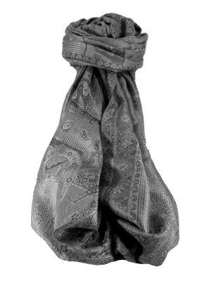 Jamawar Premium Silk Stole Pattern 0669 by Pashmina & Silk
