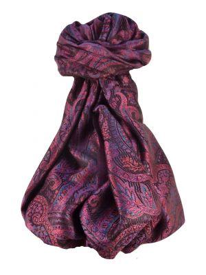 Jamawar Premium Silk Stole Pattern 0799 by Pashmina & Silk