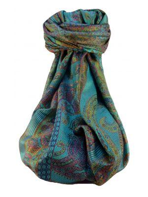 Jamawar Premium Silk Stole Pattern 0959 by Pashmina & Silk