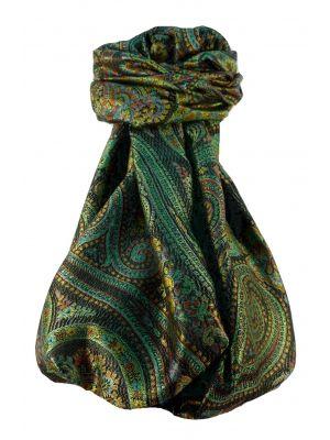 Jamawar Premium Silk Stole Pattern 1079 by Pashmina & Silk