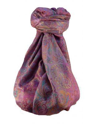 Mens Jamawar Premium Silk Scarf Pattern 8789 by Pashmina & Silk