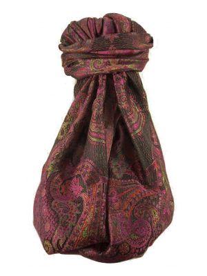 Jamawar Premium Silk Stole Pattern 1239 by Pashmina & Silk