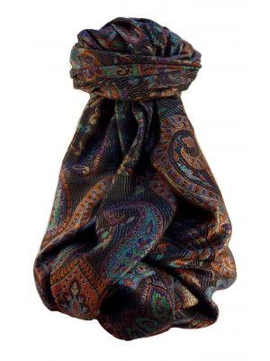 Jamawar Premium Silk Stole Pattern 1529 by Pashmina & Silk