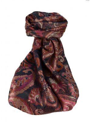 Mens Jamawar Premium Silk Scarf Pattern 9489 by Pashmina & Silk