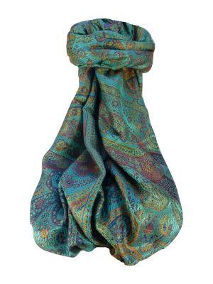 Jamawar Premium Silk Stole Pattern 1949 by Pashmina & Silk