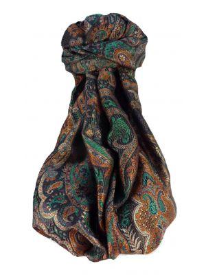 Jamawar Premium Silk Stole Pattern 2489 by Pashmina & Silk