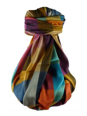 Premium Silk Contemporary Stole 0689 GIFT BOX WRAPPED by Pashmina & Silk