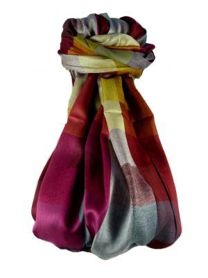 Mens Premium Silk Contemporary Scarf 2979 by Pashmina & Silk