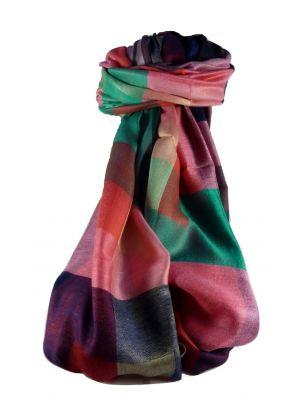 Mens Premium Silk Contemporary Scarf 3839 by Pashmina & Silk