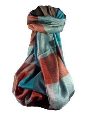 Mens Premium Silk Contemporary Scarf 3969 by Pashmina & Silk