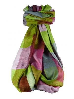 Mens Premium Silk Contemporary Scarf 4089 by Pashmina & Silk