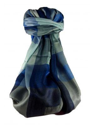 Mens Premium Silk Contemporary Scarf 4249 by Pashmina & Silk