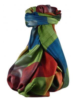 Mens Premium Silk Contemporary Scarf 4379 by Pashmina & Silk