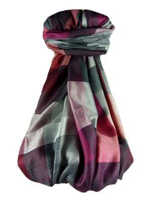 Mens Premium Silk Contemporary Scarf 4669 by Pashmina & Silk