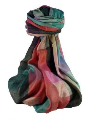 Premium Silk Contemporary Stole 9249 GIFT BOX WRAPPED by Pashmina & Silk