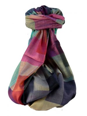 Premium Silk Contemporary Stole 9379 GIFT BOX WRAPPED by Pashmina & Silk