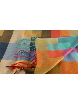 Premium Silk Contemporary Stole 9669 GIFT BOX WRAPPED by Pashmina & Silk