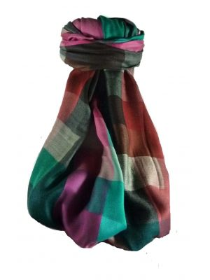 Premium Silk Contemporary Stole 9829 GIFT BOX WRAPPED by Pashmina & Silk