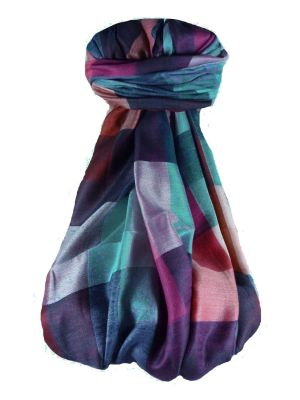 Premium Silk Contemporary Stole 9959 GIFT BOX WRAPPED by Pashmina & Silk
