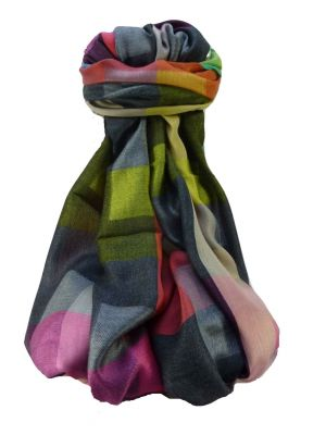 Mens Premium Silk Contemporary Scarf 5789 by Pashmina & Silk