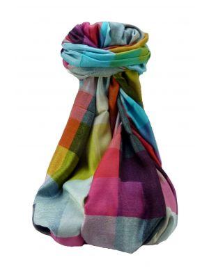 Premium Silk Pondicherry Stole 3829 by Pashmina & Silk