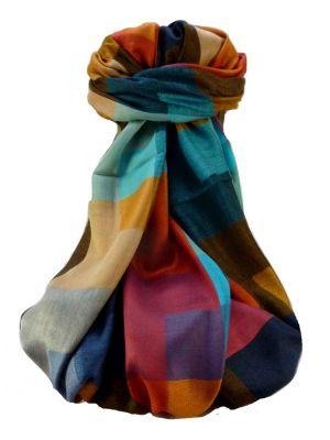 Mens Premium Silk Contemporary Scarf 6519 by Pashmina & Silk