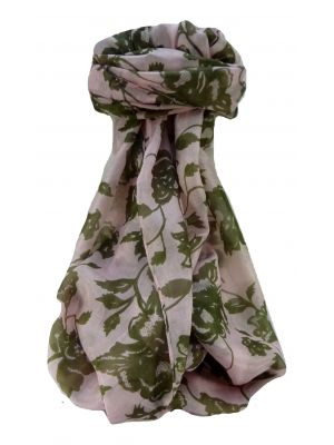 Mulberry Silk Contemporary Long Scarf Anan Pink by Pashmina & Silk