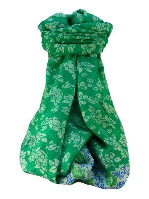 Mulberry Silk Contemporary Long Scarf Kewel Jade by Pashmina & Silk