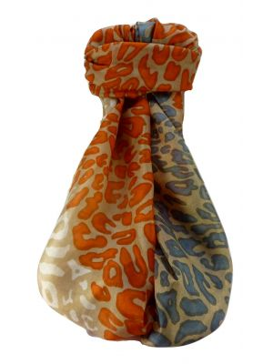 Mulberry Silk Contemporary Long Scarf Manilal Charcoal by Pashmina & Silk
