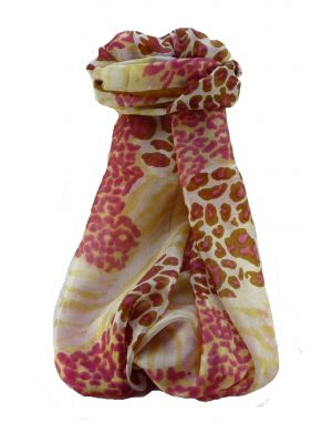 Mulberry Silk Contemporary Long Scarf Sha Chestnut by Pashmina & Silk